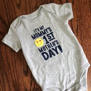 Carters first Mother's Day body suit